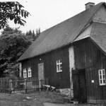 Forsthaus 'Alte Schmiede' Depot der FFW Tellerhäuser im Jahre 1943